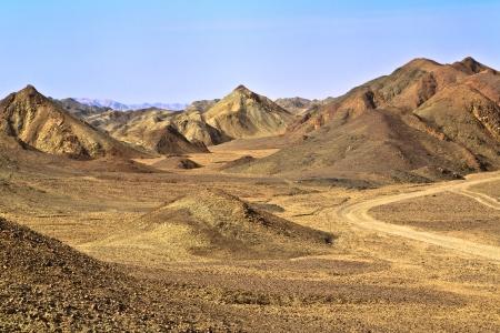 sahara desert: Landscapes and mountains of the Sahara Desert in Egypt