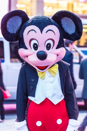 Mickey Mouse comedian in New York, Fifht Evenue