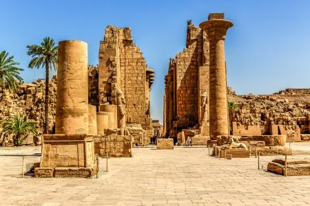 louxor: complexe de temple de Karnak � Louxor en Egypte