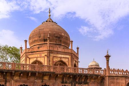 fatehpur: Fatehpur Sikri in India, Red Fort, Rajastan Stock Photo