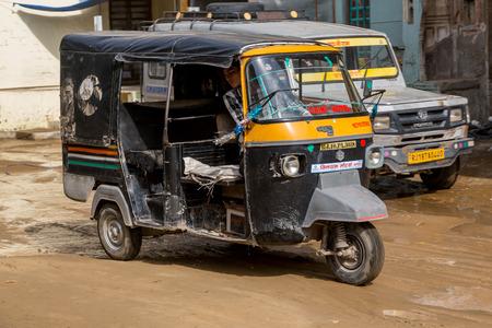 tuktuk: TukTuk India Car Scooter in Rajastan Editorial