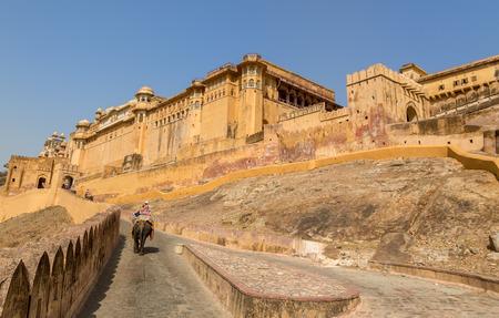 jagmandir: Famous Rajasthan landmark - Amer  Amber  fort, Rajasthan, India