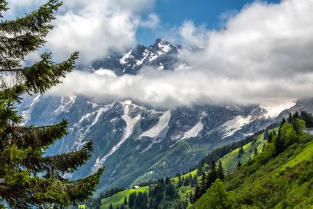 berchtesgaden: Mountains in the Bavarian Alps, near Berchtesgaden