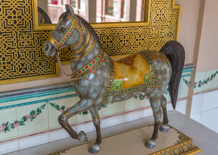 realism: color glaze horses are famous for their perfect design and realism