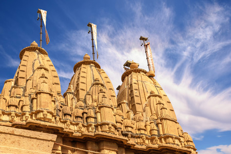 hinduismo: Templo hinduismo en Rajastan India Asia