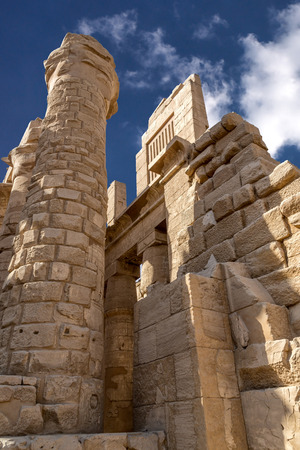 Karnak Temple Egypt. Karnark is the biggest temple in Luxor City Egypt