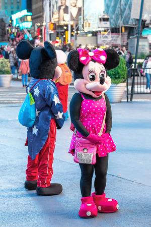 mickey: Mickey Mousin New York, Broadway