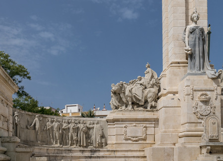 Monument to the Constitution of 1812 in Cadiz, Spain