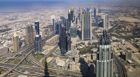 skyline view Dubai