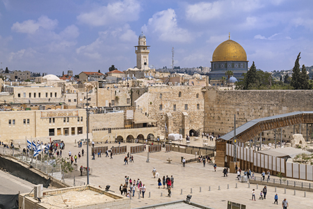 The Western Wall,Temple Mount, Jerusalem Editorial