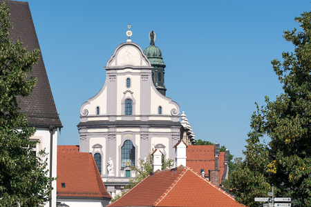 An image of the basilica of Altoetting in Bavaria Germany