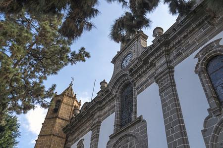 Basilica de Nuestra Senora del Pino in Teror Gran Canaria Reklamní fotografie - 92543480