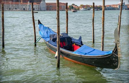 Resting Gondola in Venice, Italy