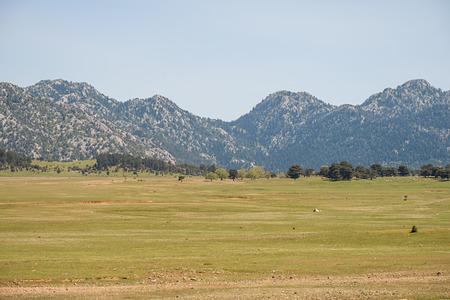 Plateau in the Taurus Mountains in Turkey Standard-Bild - 100750850