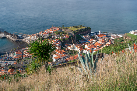 Landscape of Madeira from Miradouro da Torre, Portugal