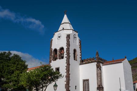 Church Santa Cruz, Portugal, Madeira, Santa Cruz Standard-Bild
