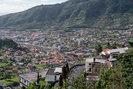 Machico city in Madeira, Portugal