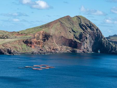 seascape view over Ponta de Sao Lourenco , Madeira Portugal