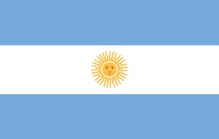 bandera argentina: Bandera Argentina  Foto de archivo