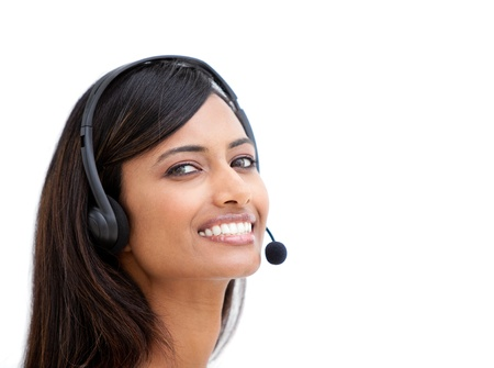 Radiant customer service representative  photo