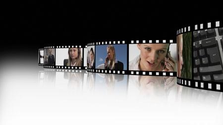 Business teamwork Film Reel Stock Photo - 10076441
