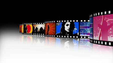 Music and Dance Film Reel photo
