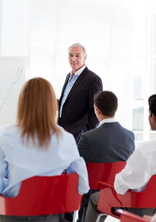 A diverse group of business people at a seminar Stock Photo - 10078826
