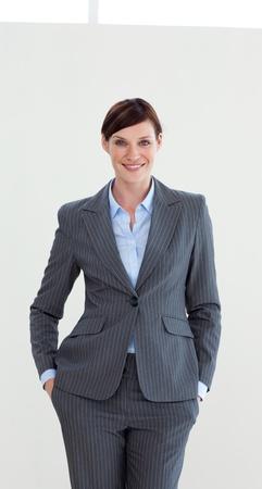 Portrait of a confident businesswoman  photo