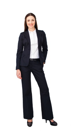 Portrait of a charismatic young businesswoman Stock Photo