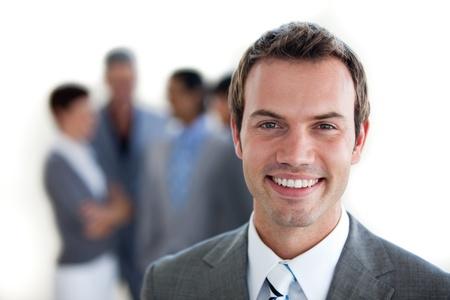Focus su un giovane manager