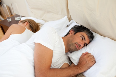Close-up of couple after having an argument Stock Photo - 10097198
