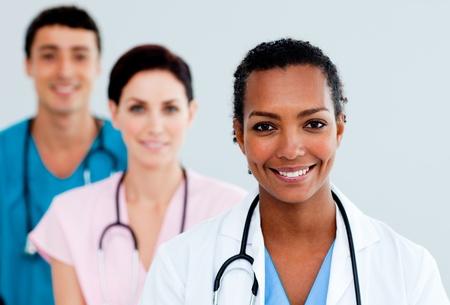 personal medico: Doctora atractivo Foto de archivo