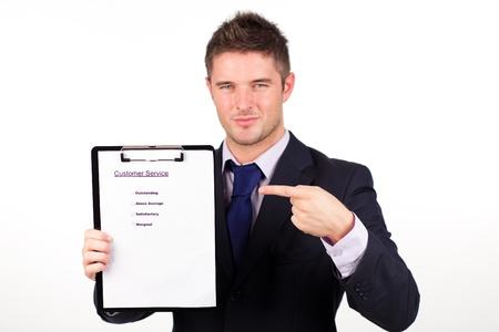 ottimo: rapporto di affari con servizio clienti