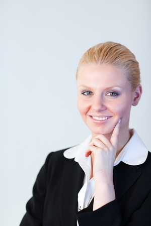 Businesswoman smiling at the camera Stock Photo - 10111815