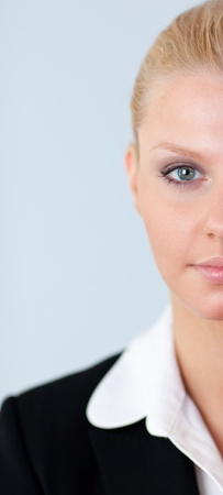 abstract view of a Confident business woman photo