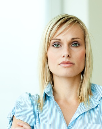 Businesswoman with arms crossed Stock Photo - 10111757