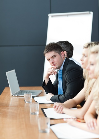 Business team happy wotking together Stock Photo - 10111061