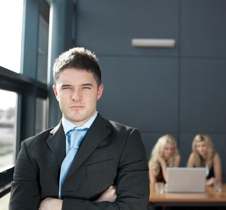 Portrait of a confident business man Stock Photo - 10110403