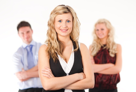 Female Business woman with arms Folded Stock Photo - 10110462