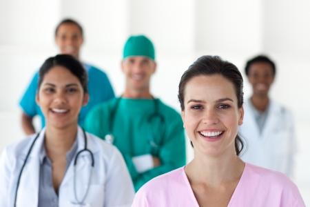 equipe medica: Equipe medica internazionale Archivio Fotografico