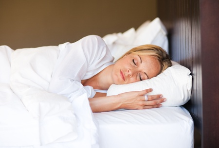 Young woman sleeping Stock Photo - 10115185