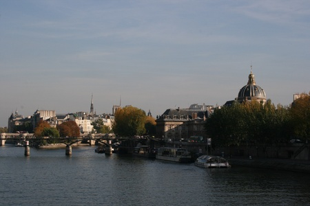 River Seine in Paris photo
