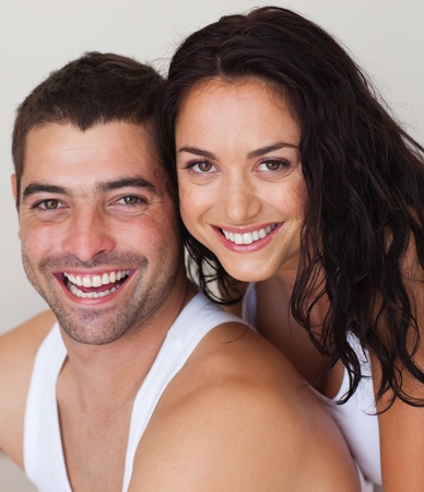 thirty���s: Portrait of a loving couple