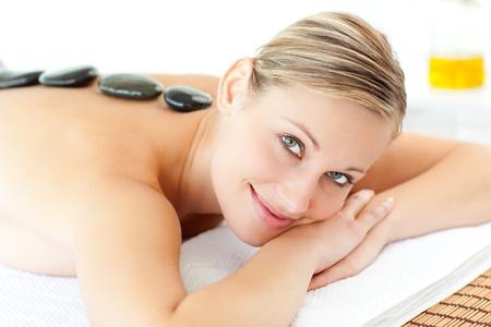 Beautiful woman having a massage  Stock Photo - 10129900