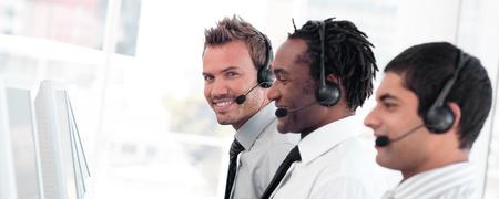 Attractive sale representative partners at work Stock Photo - 10135015
