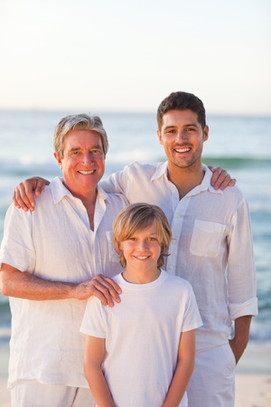sons and grandsons: Portrait of a family