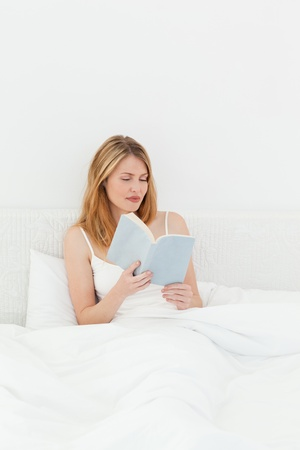 Beautiful girl reading a book Stock Photo - 10196646