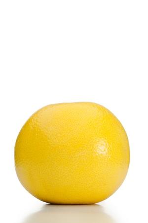 Grapefruit na bílém pozadí Reklamní fotografie - 10193460