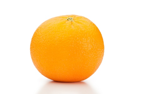 Orange on a white background Stock Photo - 10194619