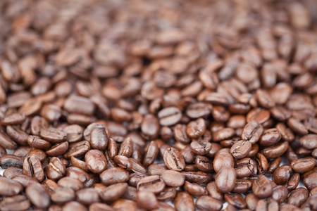 Coffee beans background Stock Photo - 10206795
